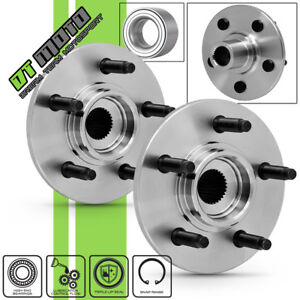 Pair 2 521000 Rear Wheel Hub Bearing Assembly For Explorer Aviator Mountaineer
