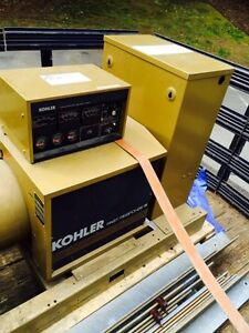 57 Kw Kohler Genset Model 60rz2 gtt2 Natural Gas Or Propane Generator