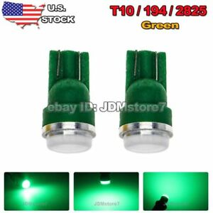 4x Car T10 Green Led 5630 Chip Wedge Light Bulb 158 168 192 194 2825 W5w Lamp