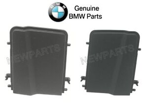 For Bmw E46 Convertible Pair Set Of Left Right Black Top Cover Trims Genuine