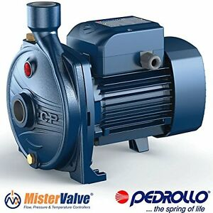 Pedrollo Centrifugal Water Pump Irrigation Water Supply Cpm 650 1 5 Hp 115 230v