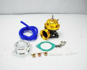 Gold Billet Aluminum Turbo Charger Type Rs Blow Off Valve Bov Fit Universal