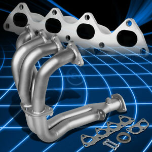 4 2 1 Paint Finished Exhaust Manifold Header For 94 01 Acura Integra 1 8l I4