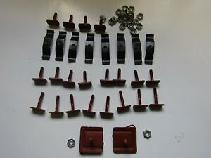 Mopar 69 Charger 1969 Grille Trim Molding Mounting Fastener Kit New