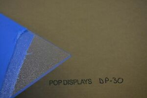 Textured Clear Acrylic Sheet Dp 30 1 4 X 24 X 24