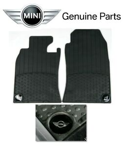 For Mini Cooper R50 R53 02 06 Front All Weather Rubber Floor Mats Set Genuine