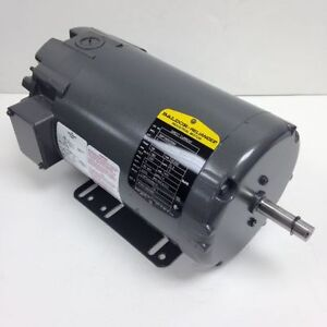 Baldor 1 Hp 1750 Rpm Tenv 180a 200f Volts 56 Dc Motor New Surplus