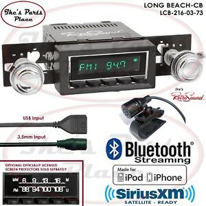 Retrosound Long Beach Cb Radio Bluetooth Ipod Usb 3 5mm Aux In 216 03 Corvette