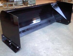 New 7 X 36 High Skid Steer tractor Loader Snow Box Pusher Plow Blade Bobca 84