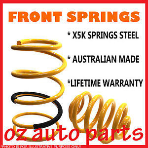 Raised 30mm Front Springs For Toyota Landcruiser 100 105 Series Solid Axle Front