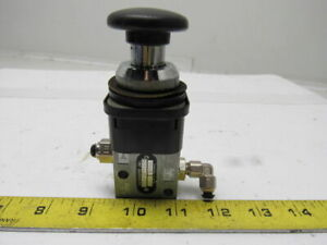Rexroth 5630201220 Pneumatic 3 2 Palm Button Actuated Valve Lot Of 3