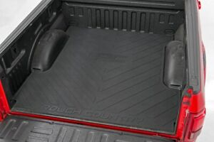 Rough Country Rubber Bed Mat fits 07 18 Chevy Silverado Gmc Sierra 5 8 Ft Bed