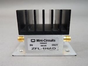 Mini circuits Zfl 1had Coaxial Amplifier 50ohms 10 500mhz High Isolation Used