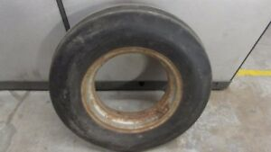 Massey Ferguson 1080 Tractor Front Rim With Firestone Tire 7 50 X 18