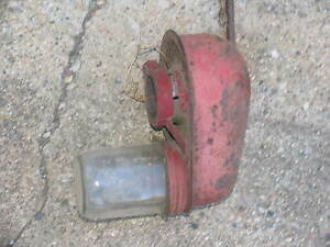 Ih International Farmall H Super H 300 350 Aircleaner Jar