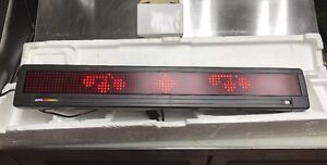 Alpha Led Programmable Display Message Sign
