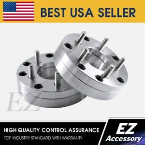 2 Wheel Adapters 4 Lug 4 25 To 5 Lug 4 75 Spacers 4x4 25 To 5x4 75 Thick 1 75