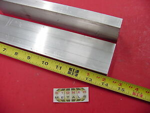 2 Pieces 5 8 X 2 Aluminum 6061 Flat Bar 14 Long Solid Extruded Mill Stock