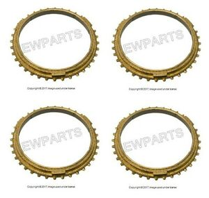 For Porsche 911 1987 1994 Set Of 4 Manual Transmission Synchro Rings German