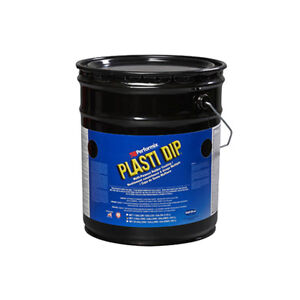 Plasti Dip Multi purpose Synthetic Rubber Coating Ultraviolet Color 5 Gal Yellow