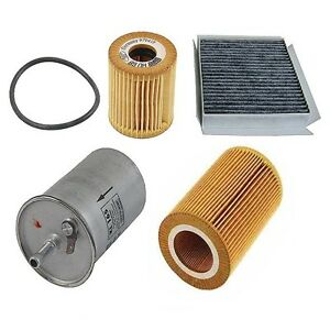 For Smart Fortwo Diesel Om660 2005 2007 Air Cabin Fuel Oil Filter Tune Up Kit