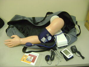 Simulaids Blood Pressure Arm Simulator Manikin Nursing Emt Trainer