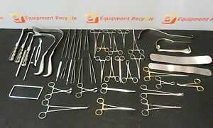 V Mueller Aesculap Major Surgery Set 1 Surgical Retractor Instrument Lot Of 45