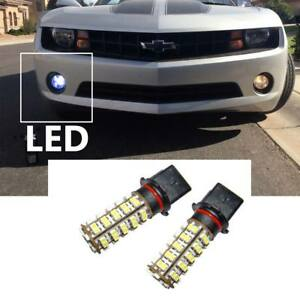 Two Blue Led Bulbs 68 Smd P13w For Chevy Camaro Fog Lights And Drl