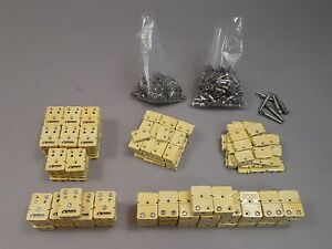 Incomplete Lot Omega Ceramic Thermocoupler Housings Hardware Male female
