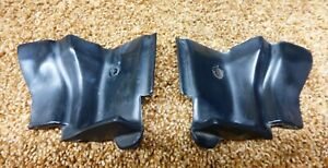 90 93 Geo Metro Lsi Convertible Oem Door Seal Guide Stop Pair
