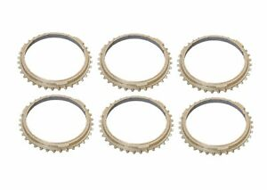 For Porsche 928 Set Of 6 Coupe Manual Transmission Synchro Rings Oe Supplier