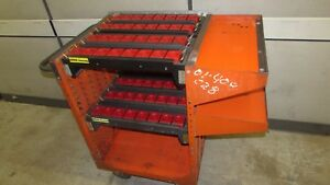 Cat 40 Tool Holder Cart Rack Kennedy 64 Tool Capacity