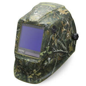 Lincoln Viking 3350 White Tail Camo Welding Helmet k4412 3
