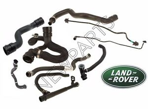 New For Land Rover Lr2 2008 2012 Radiator Hose Genuine Kit