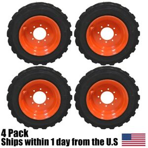 12 Ply 12 16 5 Skid Steer Tires Fit Bobcat 825 843 853 863 873 S220 S250 S300