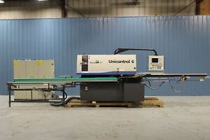 Used Weinig Unicontrol 6 Angular Window And Door Machine