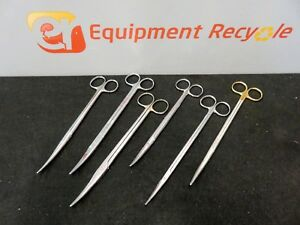 Jarit Skylar Weck Surgical Instruments Scissors 460 630 101 267 Lot Of 6
