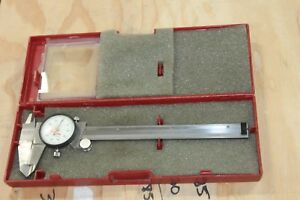 Starrett Dial Caliper 120a With Case
