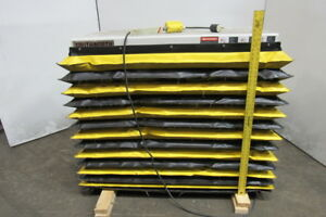 Southworth Ls2 36 2000lb Hydraulic Scissor Lift Table 24 wx48 lx 7 43 h 115v