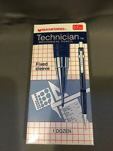 Nib 12 Sanford Technician Mechanical Pencil 0 7mm Japan Drafting Pencils