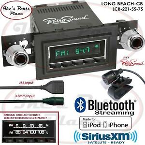 Retrosound Long Beach Cb Radio Bluetooth Ipod Usb 3 5mm Aux In 221 55 Mercury