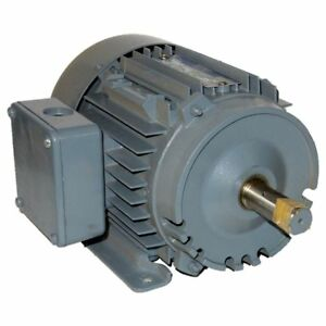 Newman 1 5 Hp 3600 Rpm Odp 230 460 Volts 143t Frame 3 Phase Motor New Surplus