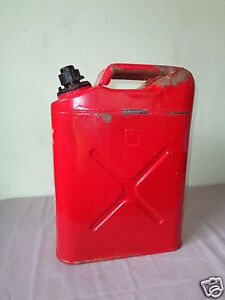 Blitz 5 Gallon Fuel Tool No Spill Metal Gas Can Storage Automatic Shut Off 1