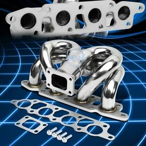 T25 Ram Horn Turbo Charger Exhaust Manifold Fit Ford Focus escape 00 04 Zx 2 0