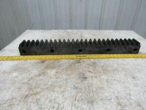 Flat Pinion Gear Rack 26t 0 3825 Mod 3 1 8 Face 23 1 2 1 2 Pitch Approx