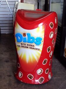 Dibs Bite Sized Ice Cream Snacks Commercial Freezer Display Model Mf30 01cg a