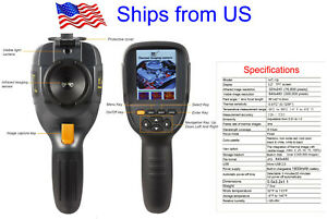 Ht a2 320x240 Thermal Imaging Camera 3 2 Lcd Hvac Inspection Ir Thermometer