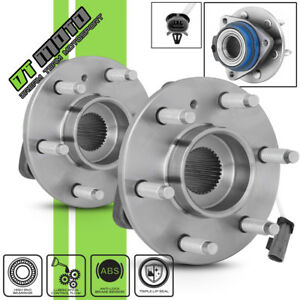 Pair 2 513236 Front Wheel Hub Bearing Assembly W Abs Terraza Uplander Montana