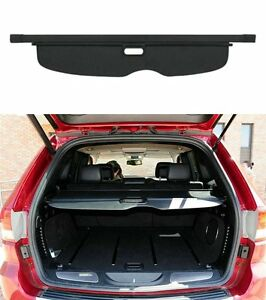 New Retractable Rear Trunk Cargo Cover Shield For Jeep Grand Cherokee 2011 2017