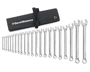 Gearwrench 81916 22 Piece Combination Wrench Set Non Ratcheting 6 32mm